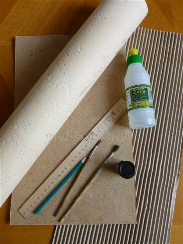 1(508) Картины из гофрированного картона. Мастер-класс
