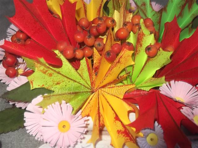18(149) Осенний букет из конфет и корзинка мастер-класс, букет своими руками, корзина роз мастер-класс