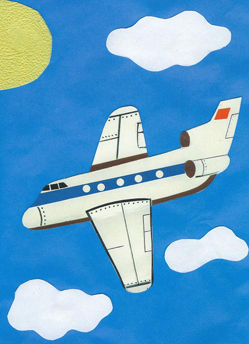 Самолетик своими руками на открытке, лет свадьбы