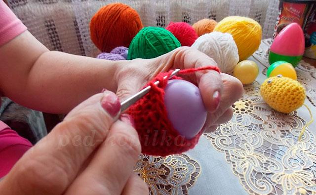 вязание крючком к пасхе