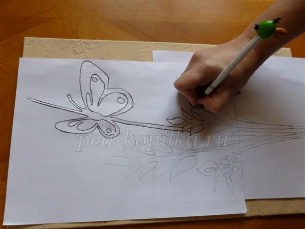 3(487) Картины из гофрированного картона. Мастер-класс