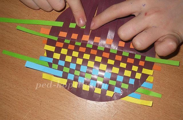 Плетеная открытка технология 4 класс конспект, ватсапе отправлять
