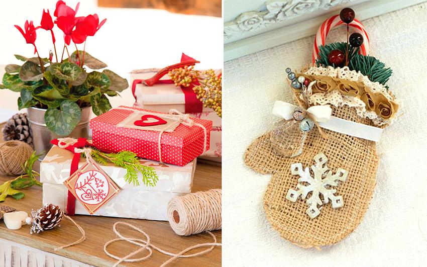 Рождественские подарки своими руками вместе с детьми