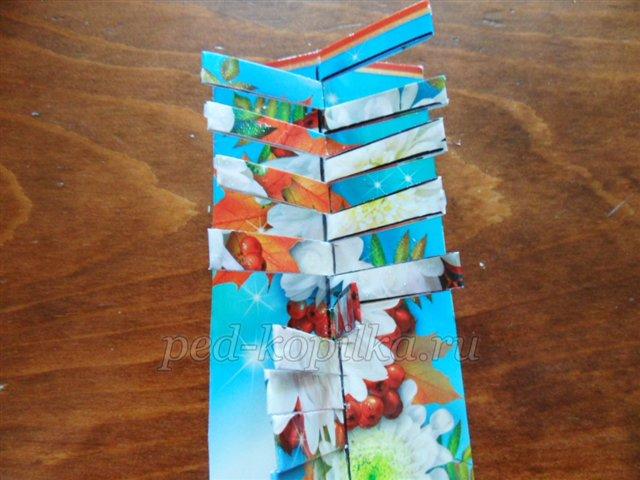 Открытки днем, поделки из открыток закладки