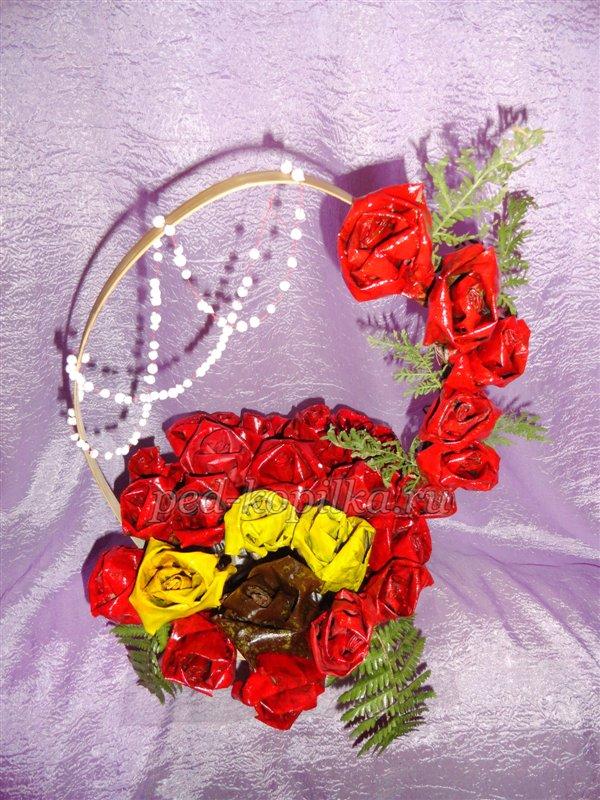 21 Цветы и розы из кленовых листьев своими руками пошагово. Осенние поделки из кленовых листьев – букеты с розами и цветами: мастер класс