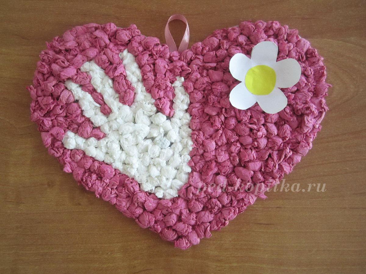 Сделать подарок своими руками ко дню матери