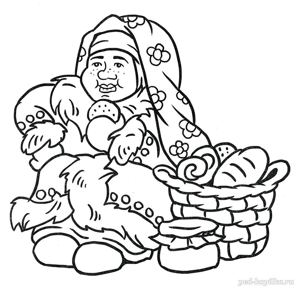 раскраска для детей 5 7 лет сказка морозко