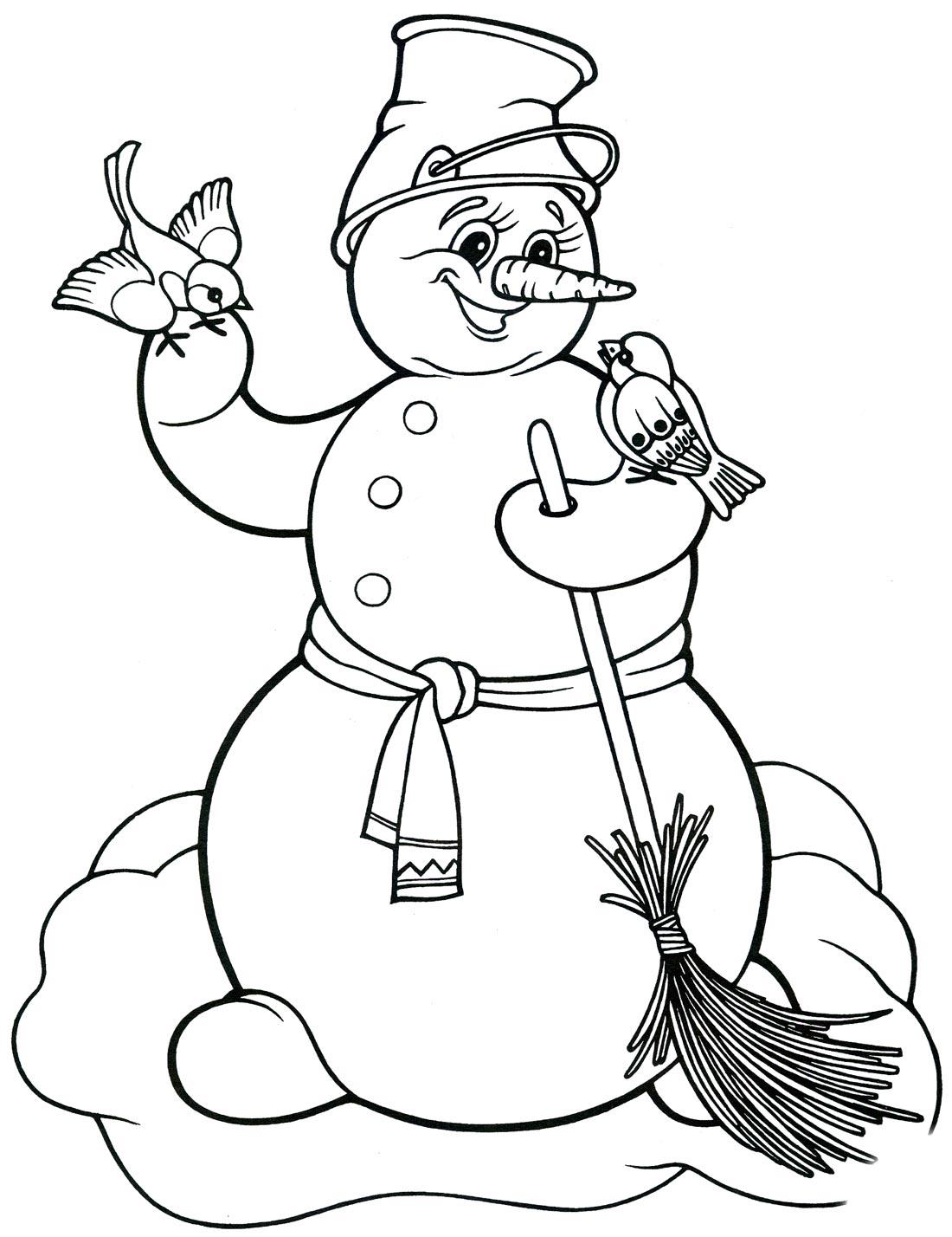 ребёнка картинки раскраски снеговика на новый год небом землёй тобой
