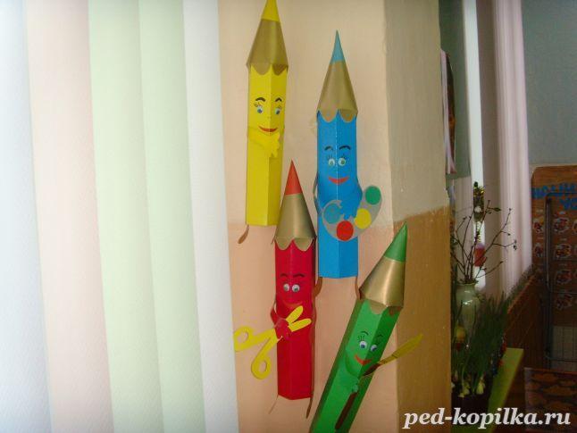Оформление группы и приемной в детском саду своими руками.