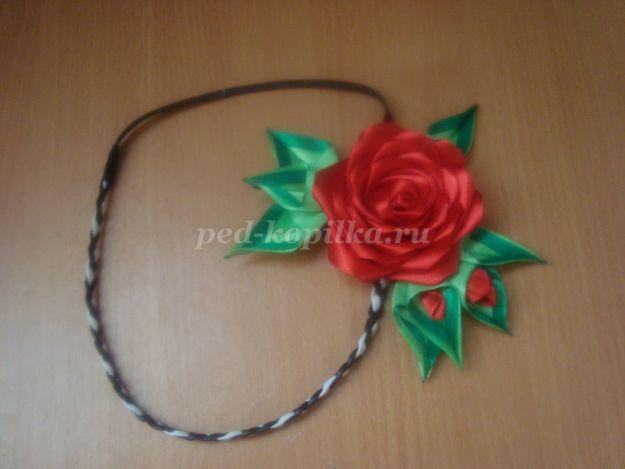 10537_b92e49536b3d13140e2774008375cef8.jpg Сделать своими руками розу канзаши