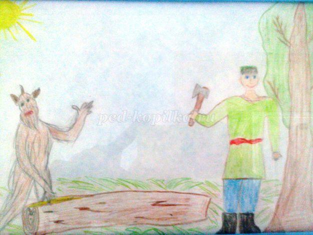 рисунок шурале габдулла тукай карандашом допросе она