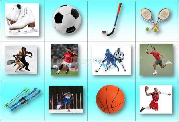 картинки для дидактических игр по физкультуре судя