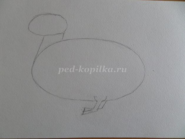 Как нарисовать палатку карандашом поэтапно для детей