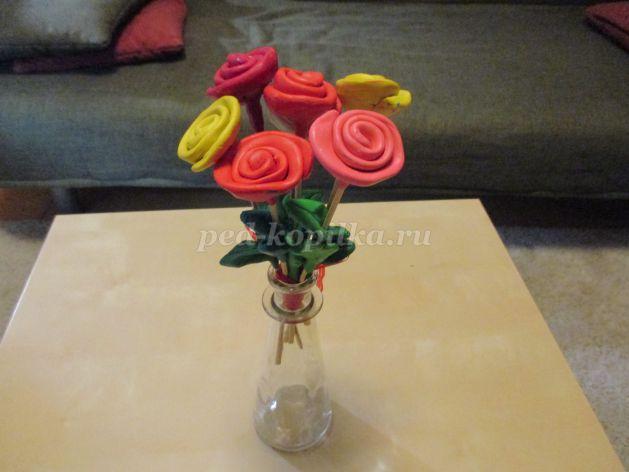 25283_14bfef9d9810e091dbd7d184fa3dfc9b.jpg Букет цветов из пластилина своими руками для детей 5-6 лет