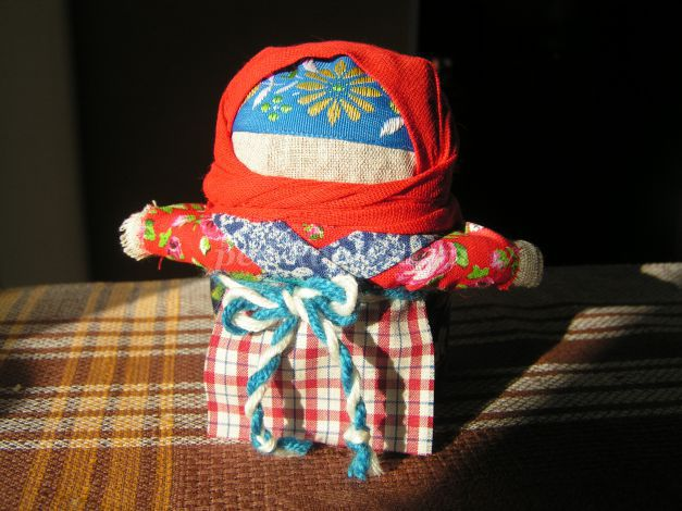 Крупеничка обрядовая кукла своими руками
