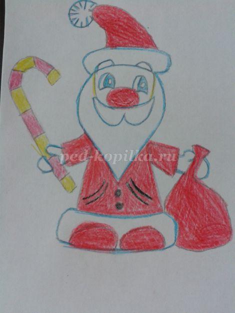 Урок рисования 1 класс презентация поэтапное рисование зима фото