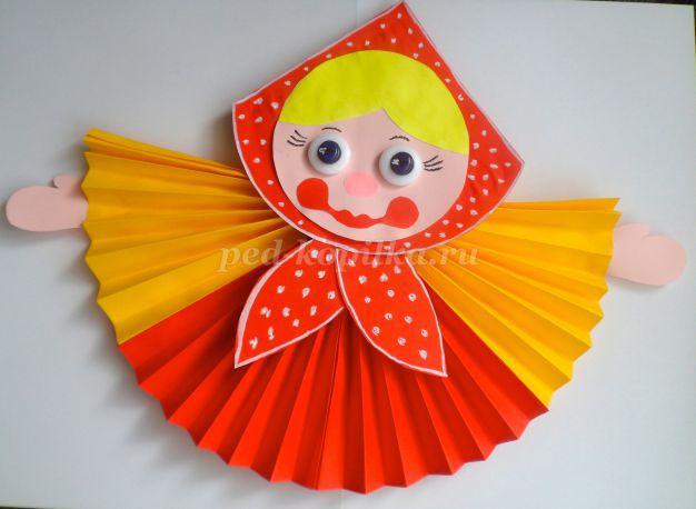 Куклы своими руками из цветной бумаги