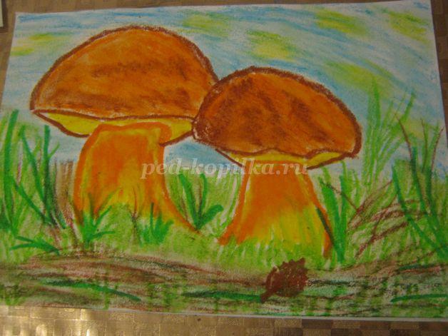 35700_64f6d740489d07c63c2e3a6c38d336fa.jpg Как нарисовать грибы. Мастер-класс: Как нарисовать грибы карандашом