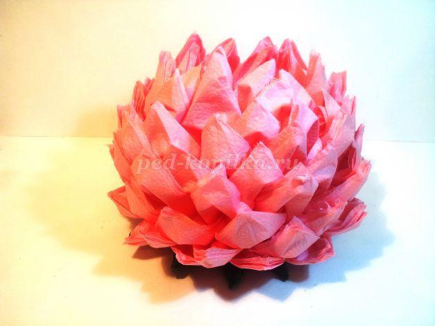 3583_6555f4832e894ff5aa06be107f720146.jpg Ананас оригами из модулей. Ананас и цветок лотоса из салфеток: оригами из модулей
