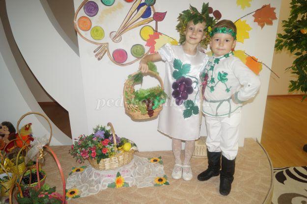 Осенний праздник Винограда для подготовительной группы ДОУ