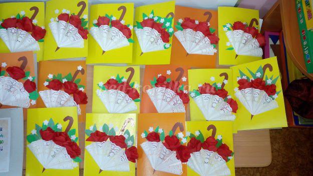 Друзьям для, открытки ко дню матери в доу своими руками