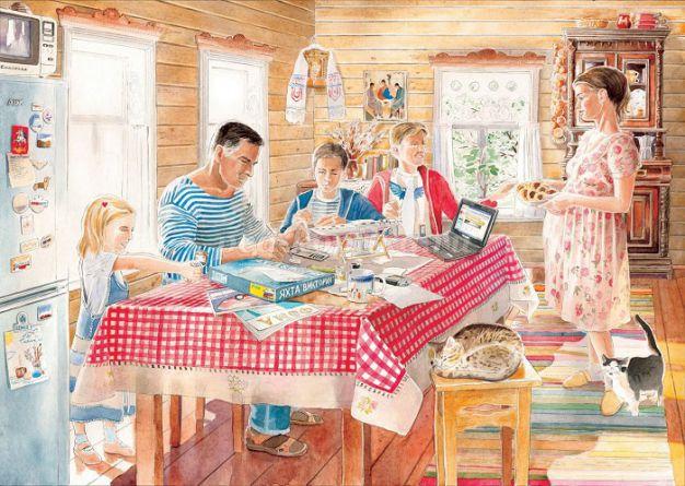 Мужское воспитание или роль отца в семье