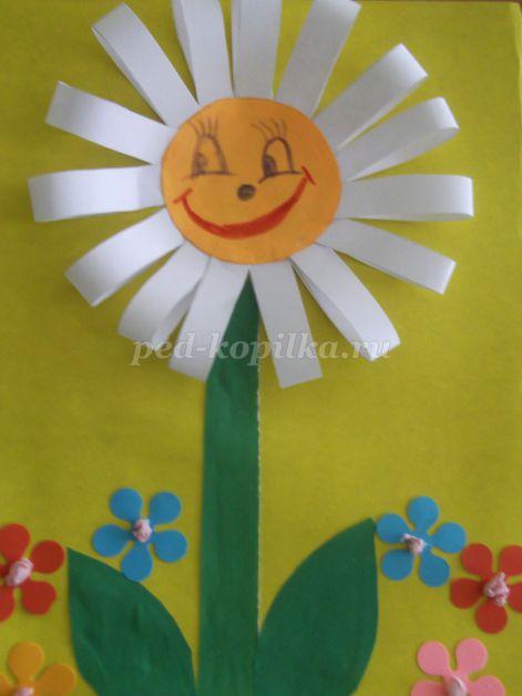 34881_0fdfec99d60cf2340d27977486aa6d44.jpg Аппликация. Цветы в вазе из цветной бумаги для старшей группы