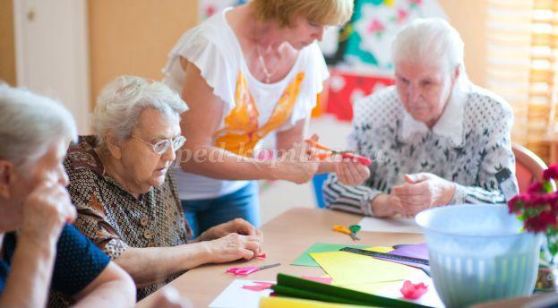 Сценарий для мероприятия в доме престарелых снять дом в частном секторе москва