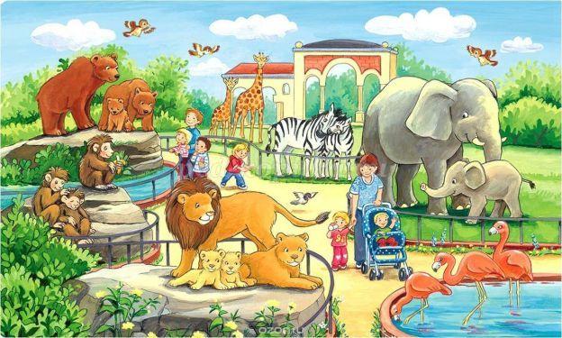Организация проектной деятельности в детском саду для детей старшей группы  по теме «Весёлый зоопарк»