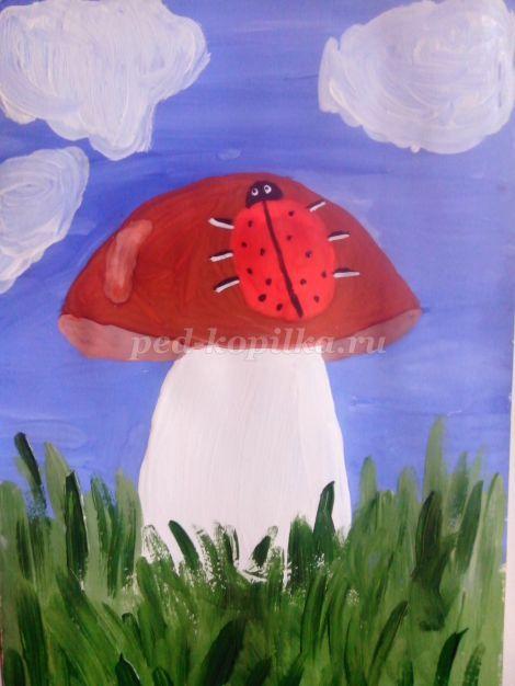 46391_223e0510200f89866060c5457eb0e718.jpg Как нарисовать грибы. Мастер-класс: Как нарисовать грибы карандашом