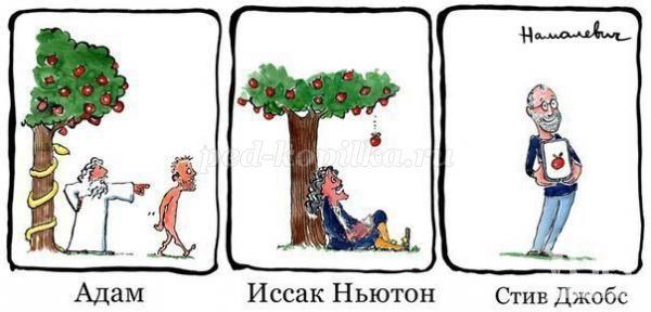 Частушки про яблоки
