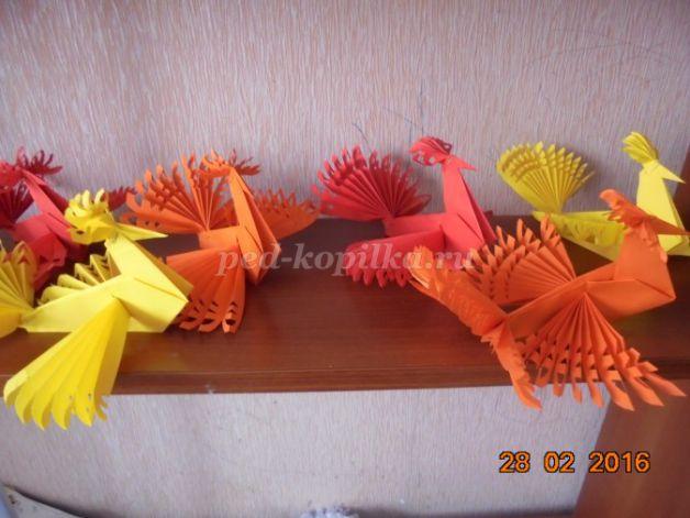 57091_e48ca48c6e61746dcc3b9679972ae260.jpg Оригами птица из бумаги для детей 7-8-9 лет пошагово с фото