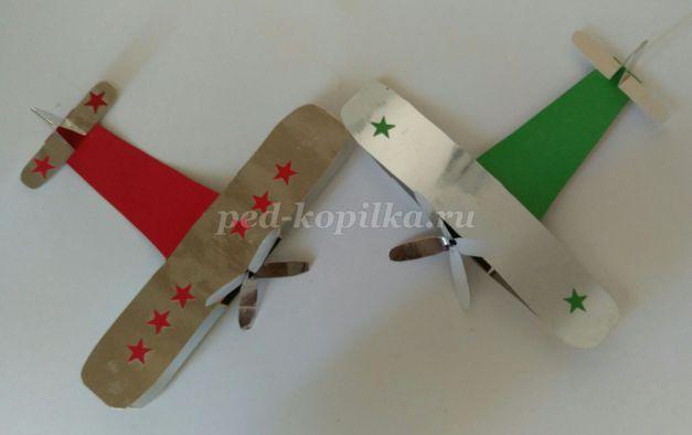 Военный самолет своими руками
