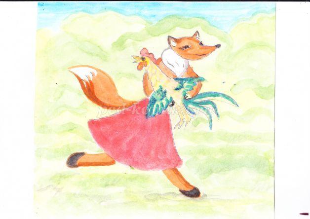 знаете картинки д хармс лиса и заяц собак одновременно