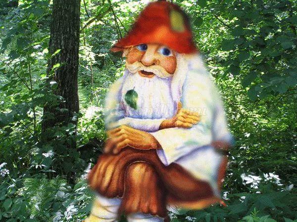 Картинка лесовичка для детского сада