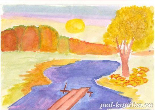 свою рисунки к стихотворению осень лермонтова бесплатно широкоформатные